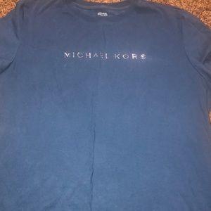 Michael Kors T shirt royal blue- XL